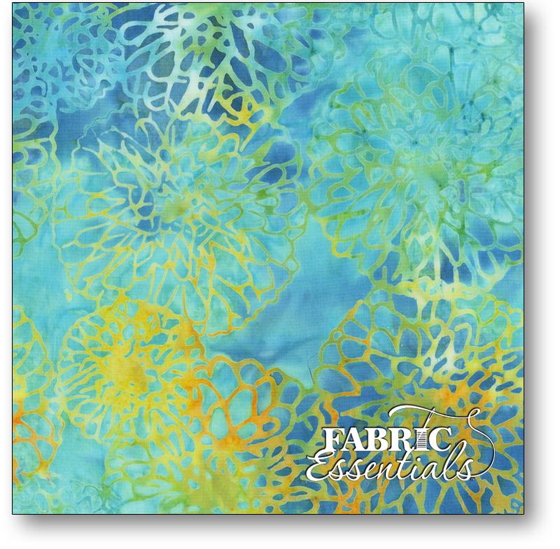 Anthology Fabrics - Natalie Barnes - Island Home Batiks - 702Q-2 Tidepool