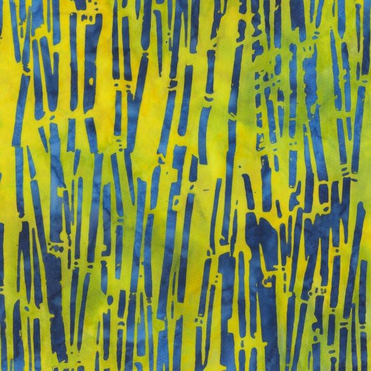 Anthology Fabrics - Natalie Barnes - Island Home Batiks - 703Q-1 Palm