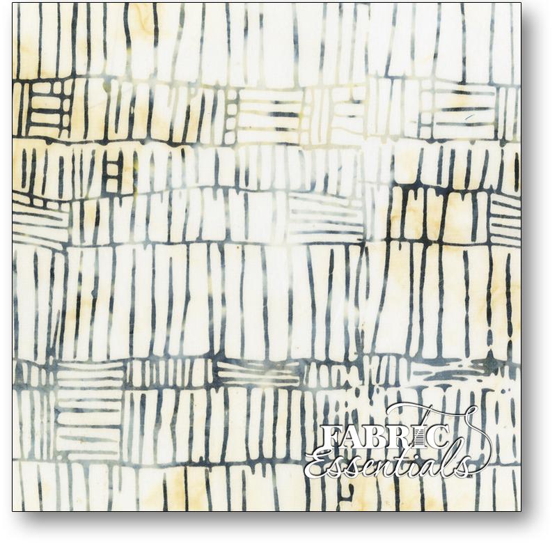 Anthology Fabrics - Natalie Barnes - Island Home Batiks - 704Q-3 Ash
