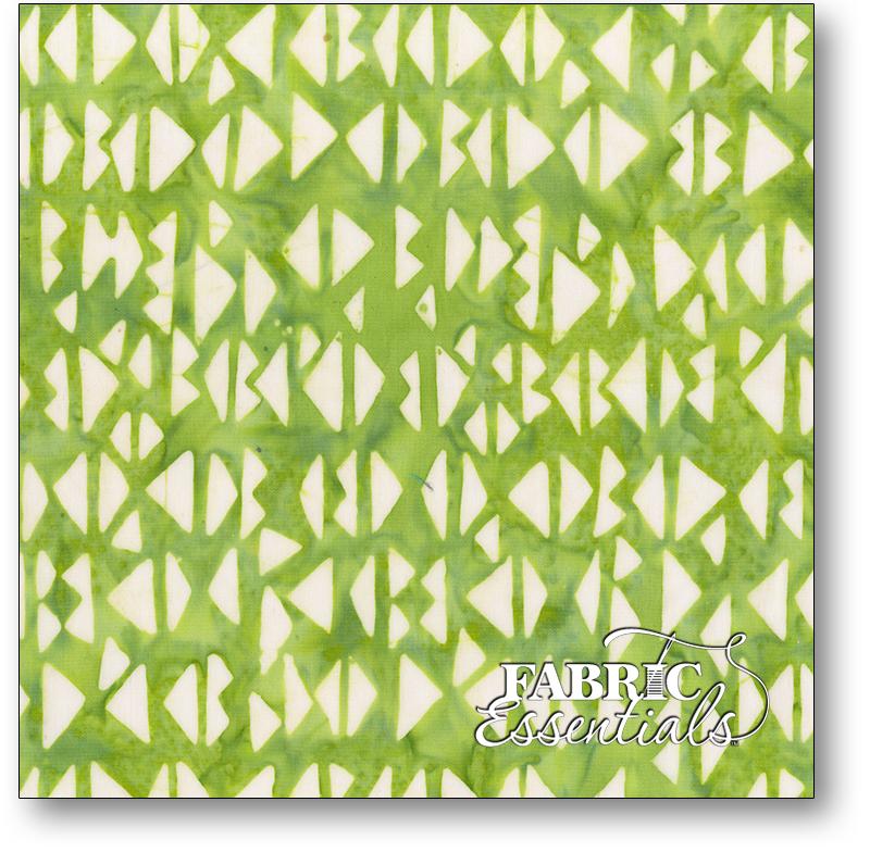 Anthology Fabrics - Natalie Barnes - Island Home Batiks - 706Q-1 Grass
