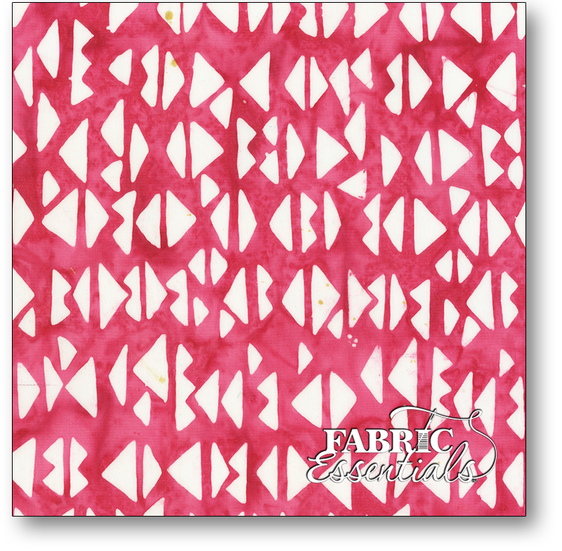 Anthology Fabrics - Natalie Barnes - Island Home Batiks - 706Q-2 Berry