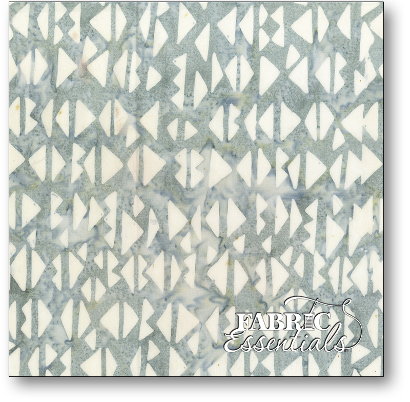 Anthology Fabrics - Natalie Barnes - Island Home Batiks - 706Q-5 Morning Fog