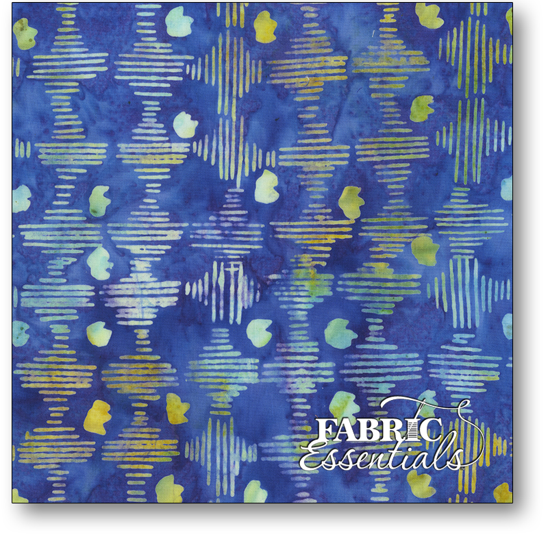 Anthology Fabrics - Natalie Barnes - Island Home Batiks - 708Q-1 Deep Water