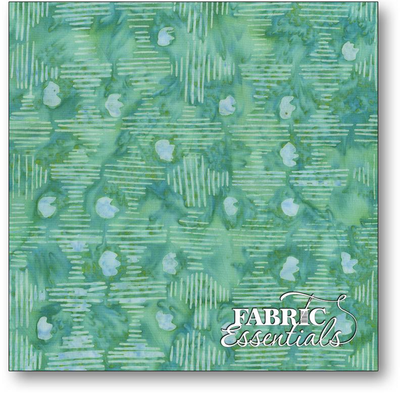 Anthology Fabrics - Natalie Barnes - Island Home Batiks - 708Q-2 Sea