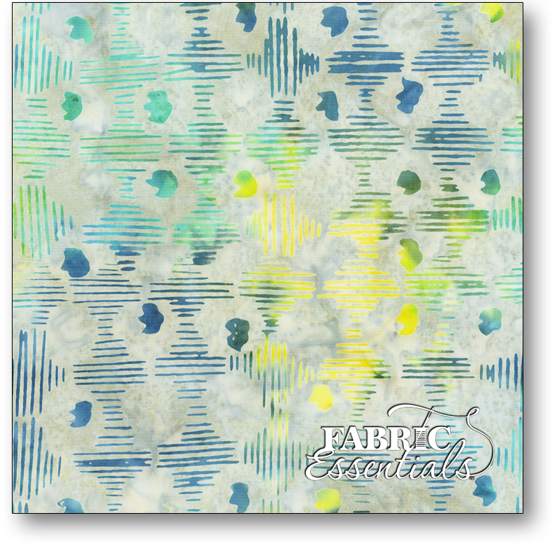 Anthology Fabrics - Natalie Barnes - Island Home Batiks - 708Q-3 Morning Fog