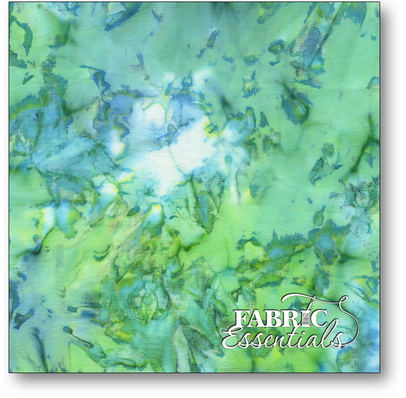 Anthology Fabrics - Natalie Barnes - Island Home Batiks - 709Q-1 Sea