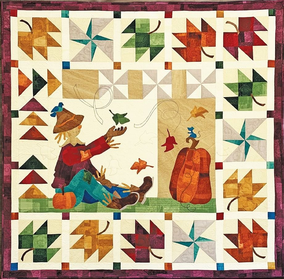 Autumn Breeze Quilt KIT ~ Two Options!