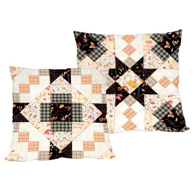 Autumn Day - Patchwork Pillows KIT ~ Two Pillows!