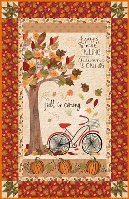 Autumn Road - Wall Quilt KIT