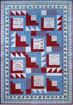 Baby Kisses - Pattern with Panel! - Select PANEL COLOR in the Options Dropdown box!
