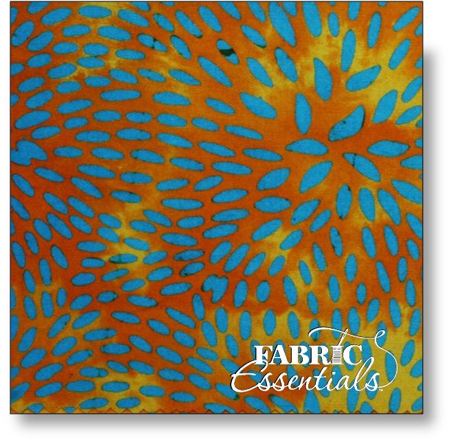 Bali Fabrics - Princess Mirah - Batiks - HH-1-5061-C - Capri Breeze