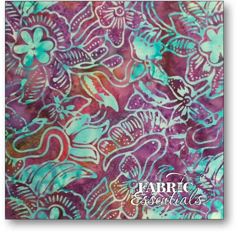 Bali Fabrics - Princess Mirah - Batiks - BH4-13-C Wood Violet
