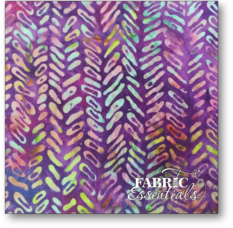 Bali Fabrics - Princess Mirah - Batiks - TH-1 Purple