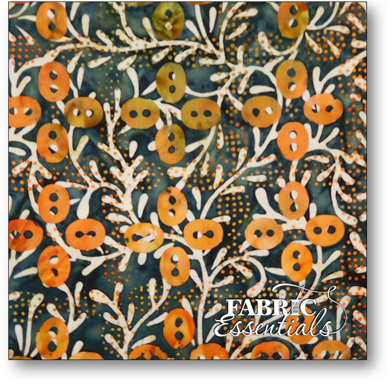 Benartex - Batiks - Tuscan Garden Balis - Deco Viines - 1978-99 Black