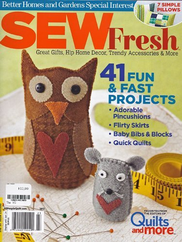 BHG - Sew Fresh - Great Gifts Hop Home Decor Trendy Accessories & More