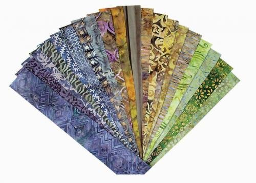 Blank Quilting - Batiks - Fabrications - Earthly Delights Batiks - 40-pack strips