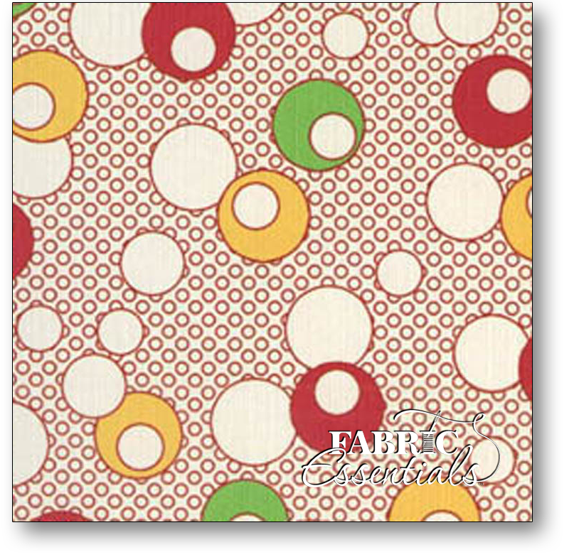 Blue Hill Fabrics - Toybox IV - BHF8262-002 Red - BUY THE BOLT - 33IN