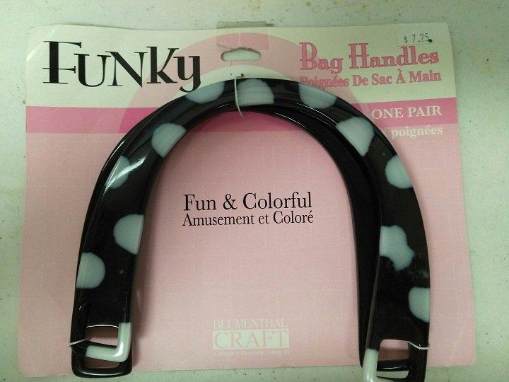 Blumenthal Craft - Funky Bag Handles 2ct - 9000202