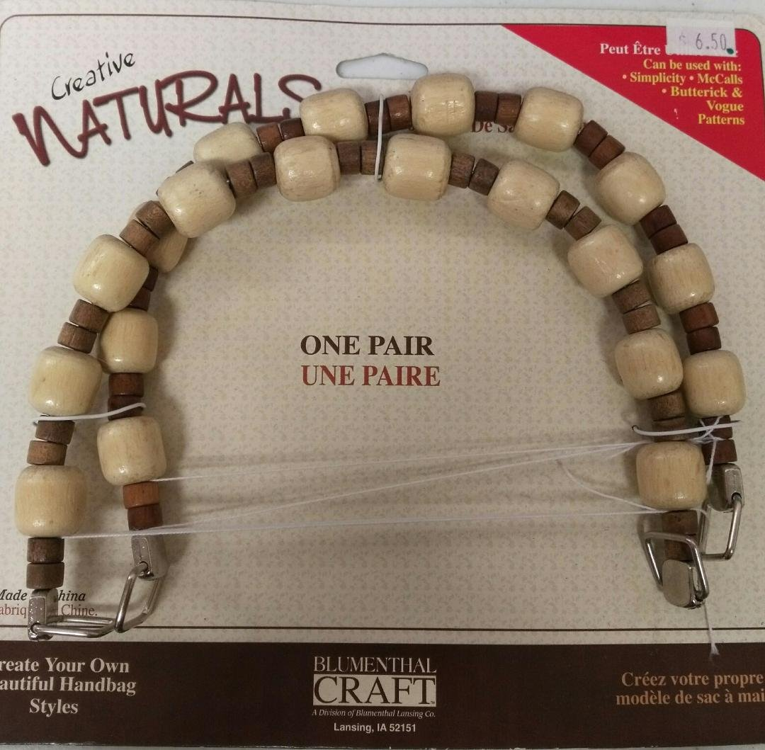 Blumenthal Craft - Natural One Pair Handle - 900020