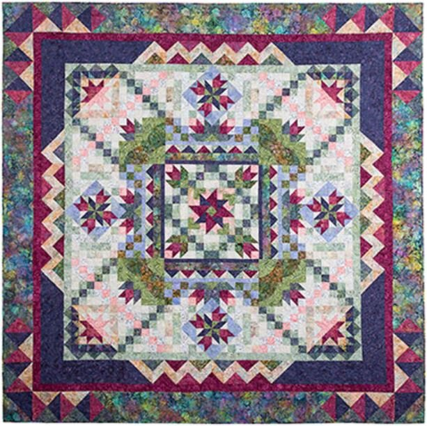 Botanica Park BOM Quilt - Includes Backing!