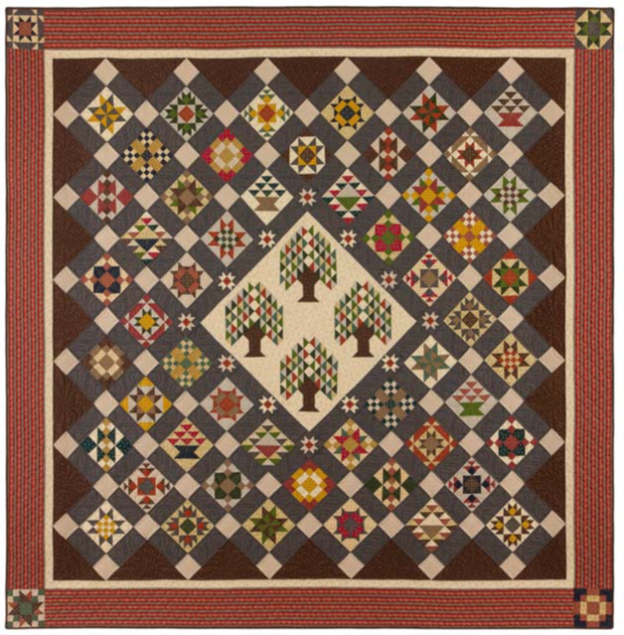 Bristle Creek Farmhouse BOM Quilt - Queen or King!