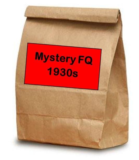 Brown Bag Bonanza - Mystery Fat Quarters - 1930s - Choose 10, 20 or 30 Fat Quarters!