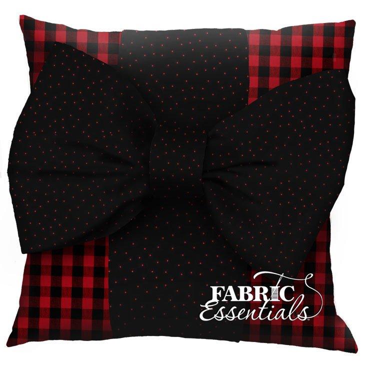 Buffalo Check - Big Bow Pillow Kit!
