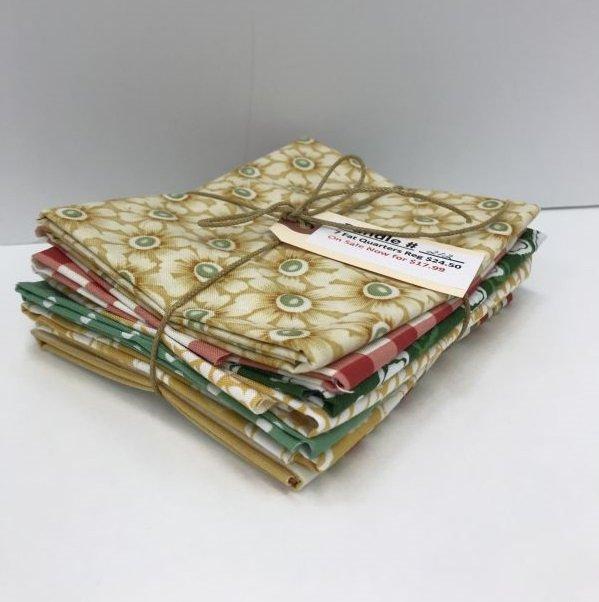 Bundle - 212 - Veranda Miscellaneous- 7 Fat Quarters