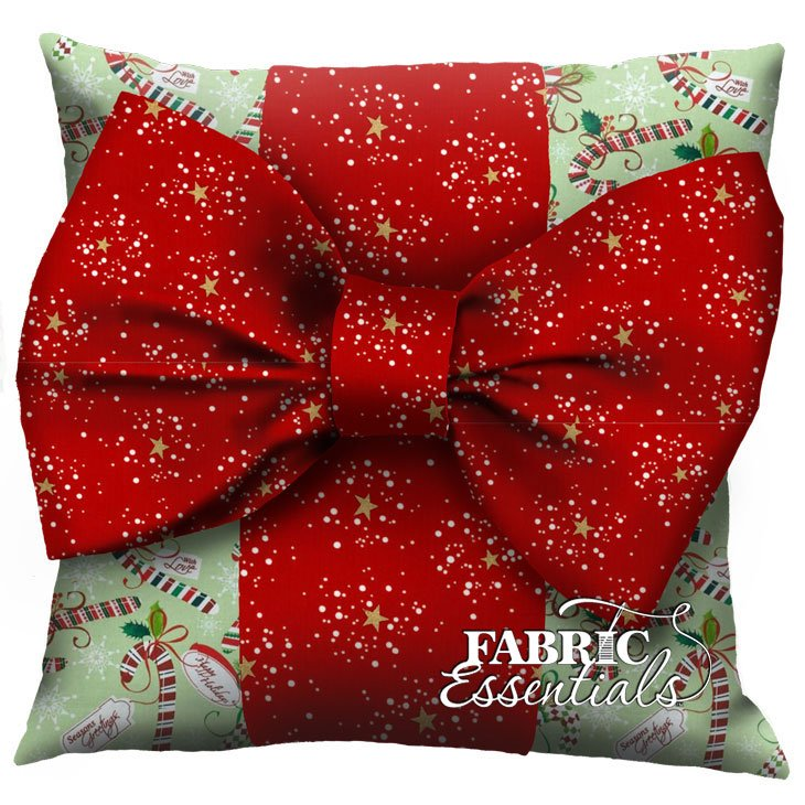 Candy Cane - Big Bow Pillow Kit!