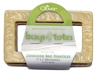 Clover - Bags & Totes Rectangle 2ct - 6350 Ivory Swirl