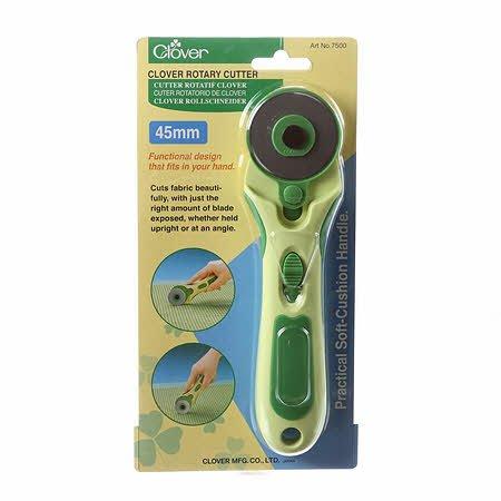Clover - 45mm Soft Grip Rotary Cutter - 7500-CV