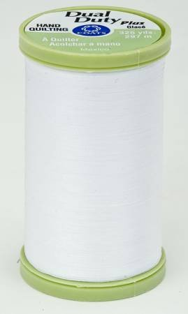 Coats & Clark - Dual Duty Plus Hand Quilting Thread - 325 yds White - S9600100