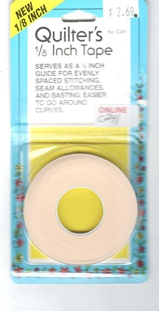 Collins - Quilter's 1/8in tape - C241