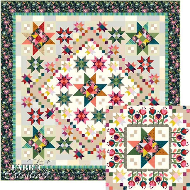 Color Love BOM Quilt - Rectangular or Square QUEEN SIZE!