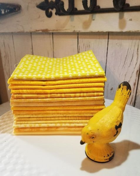 ColorStack - Lemonade! - Bundle of 15 Fat Quarters!
