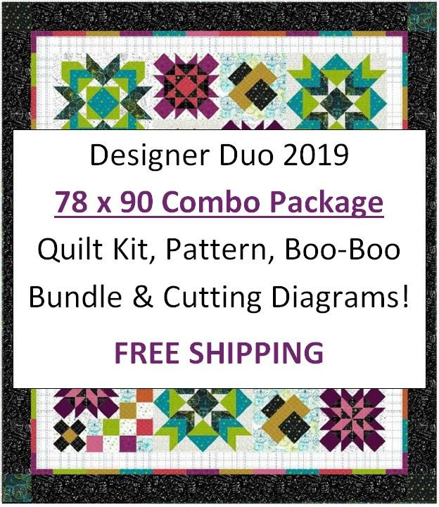 Designer Duo 2019 - 78 x 90 COMBO Package - Includes FREE Shipping!