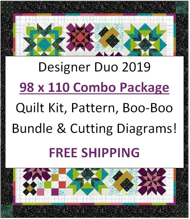 Designer Duo 2019 - 98 x 110 COMBO Package - Includes FREE Shipping!