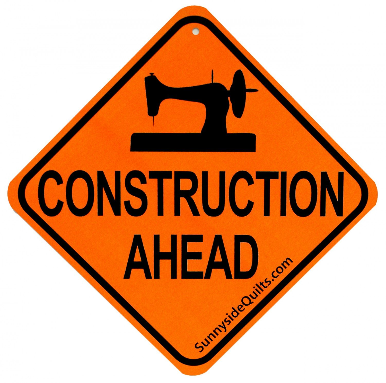 Sign - Construction Ahead