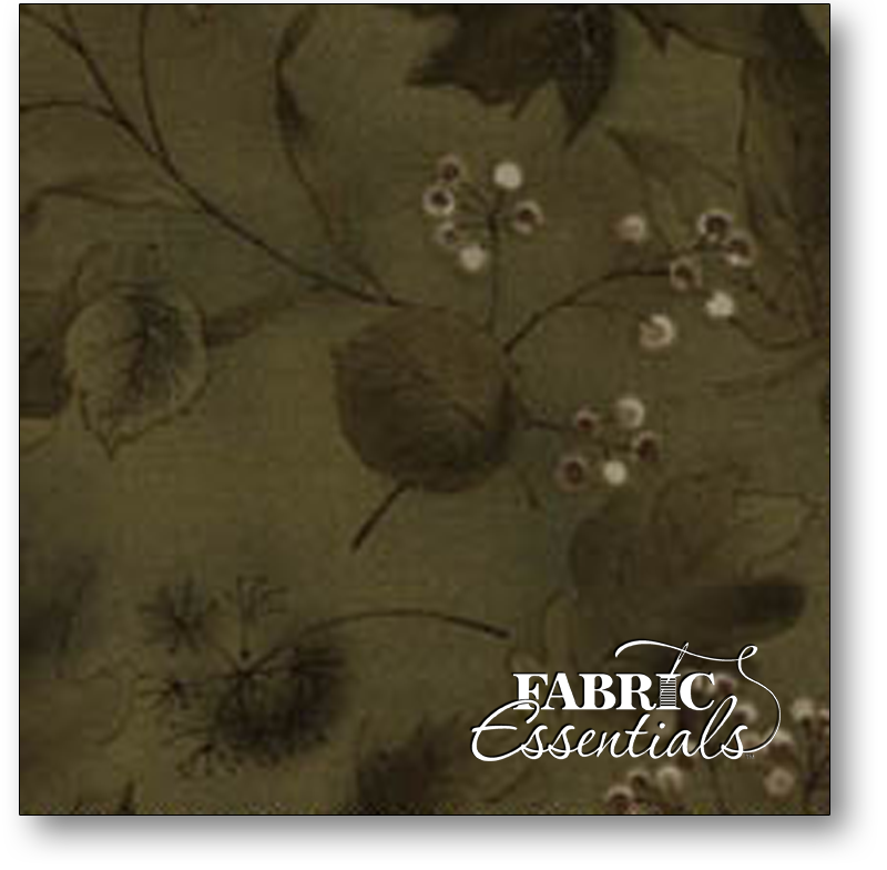 Daiwabo - Serenity - EESSER11419-G - Leaves - Dark Green