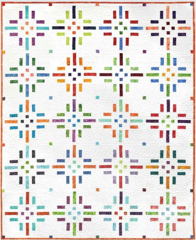 Dashing Dots Quilt KIT - ONE LEFT!!