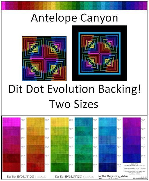Antelope Canyon KIT - Dit Dot Evolution Backing - Two Sizes!
