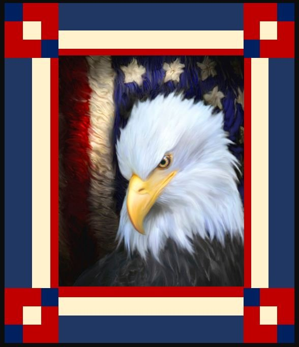 Eagle Wall Quilt KIT ~ Two Options!