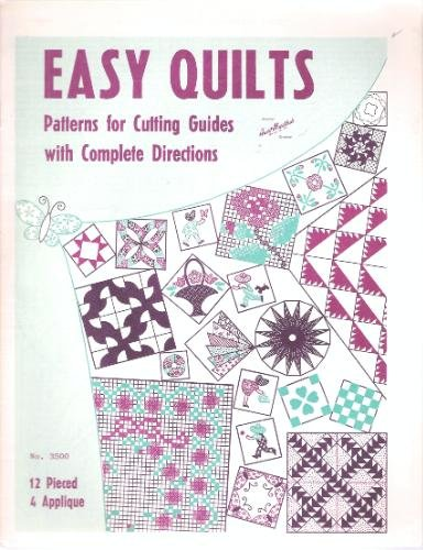 Easy Quilts Patterns for Cutting Guides with Complete Directions