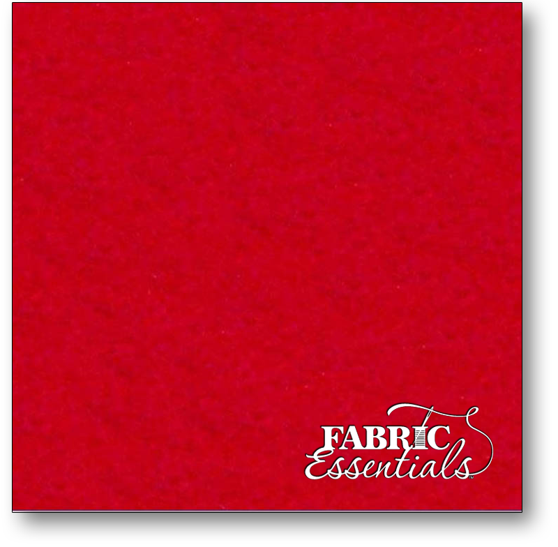 Eco-fi Felt By The Yard - 36in wide - FLT36-064 Red