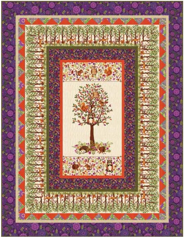 Enchanted Forest Quilt KIT