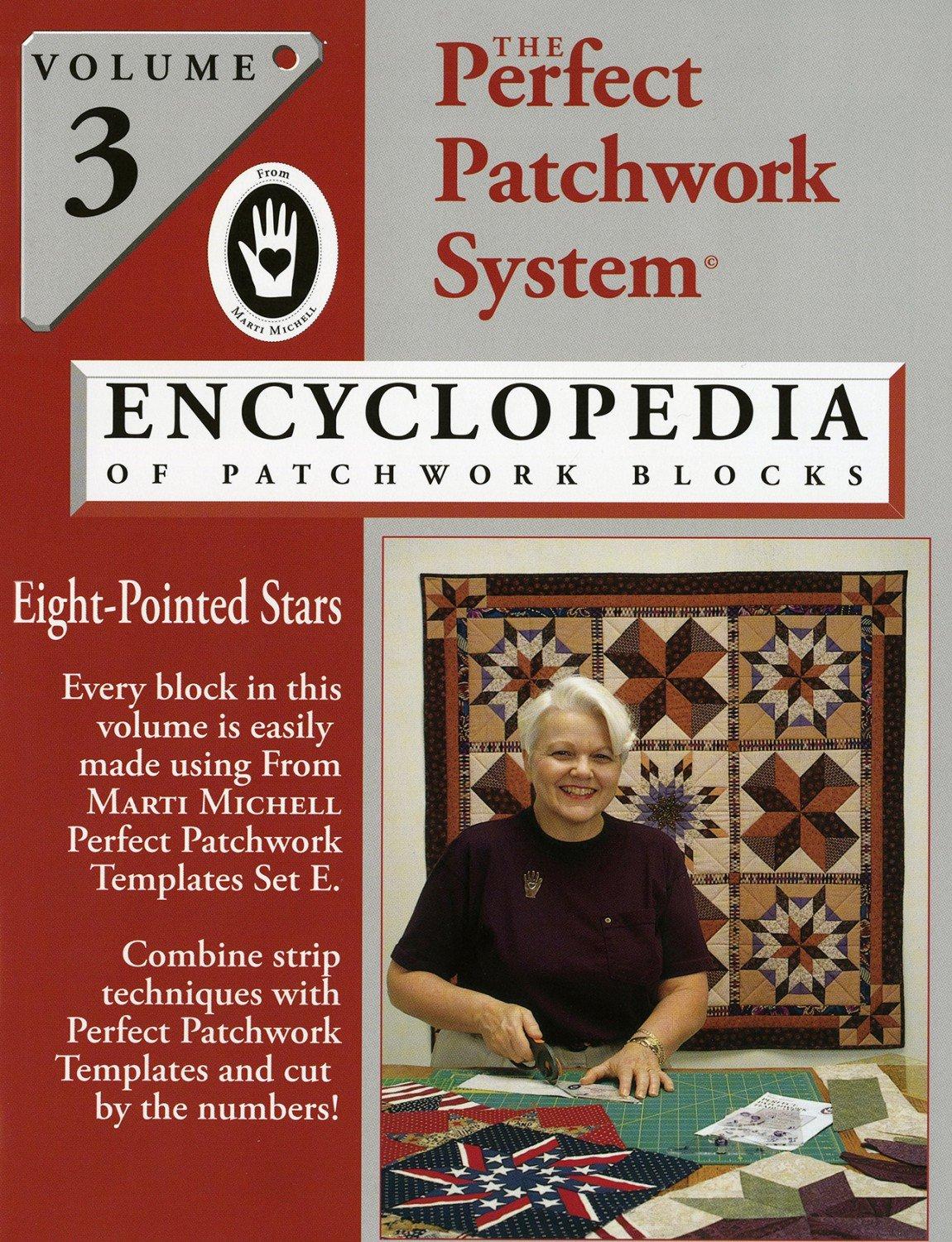 Marti Michell - Volume 3 - Encyclopedia of Patchwork Blocks - MM8345