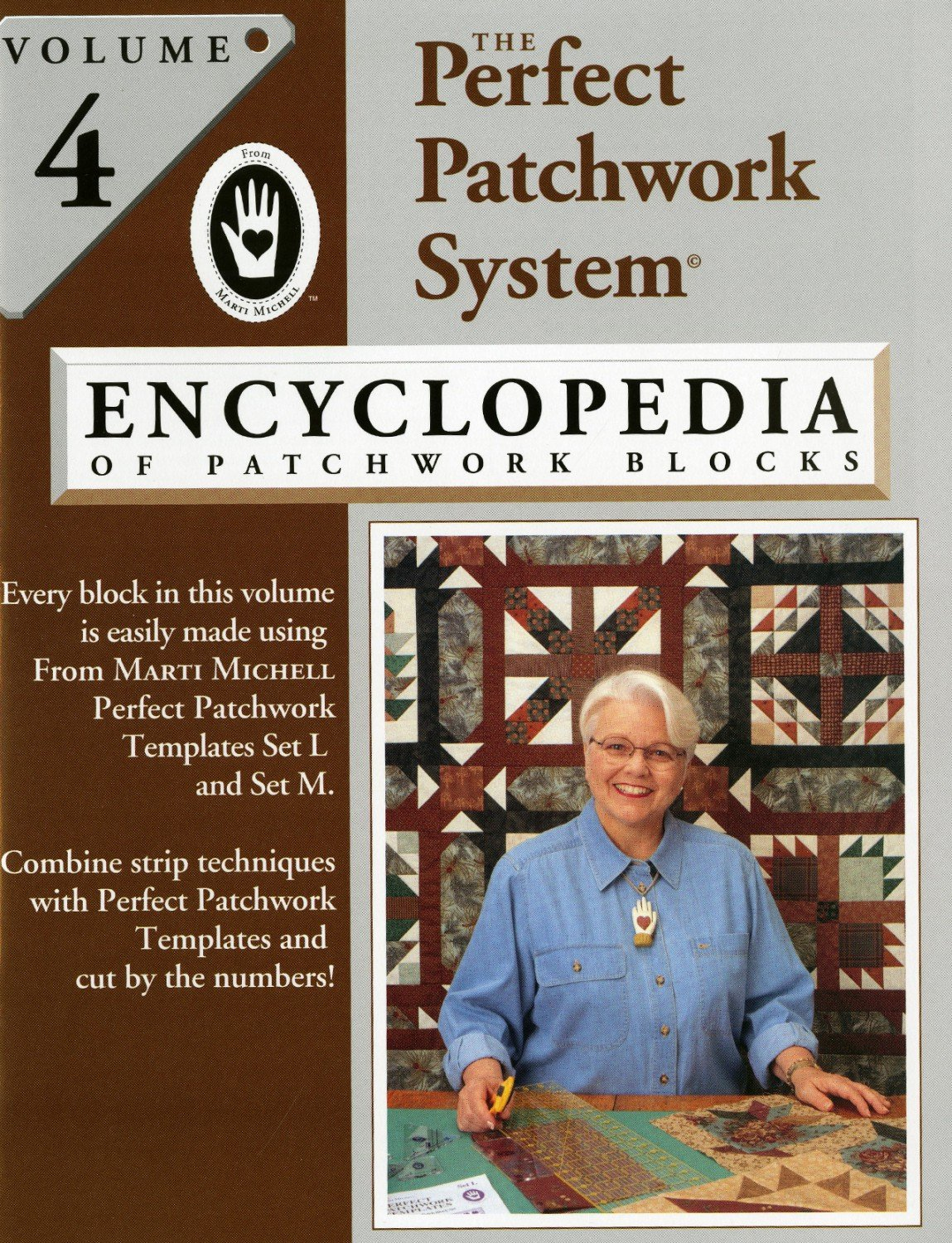 Marti Michell - Volume 4 - Encyclopedia of Patchwork Blocks - MM8346
