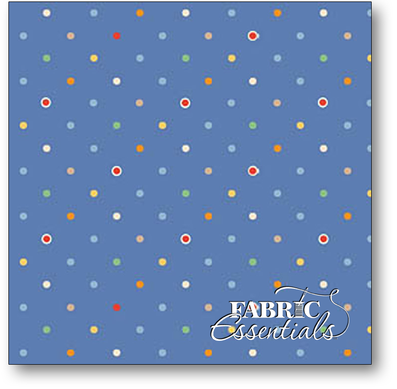 Exclusively Quilters - Nostalgia - 3915-60567-2 Blue