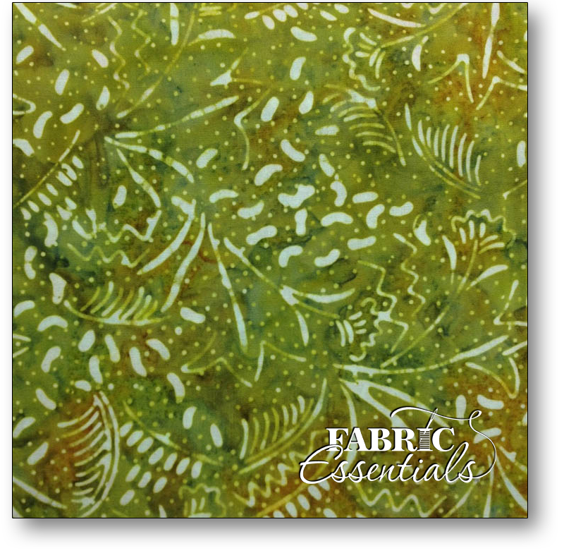Exclusively Quilters - Paradise Batiks - Style 116 - AZ-471 Green