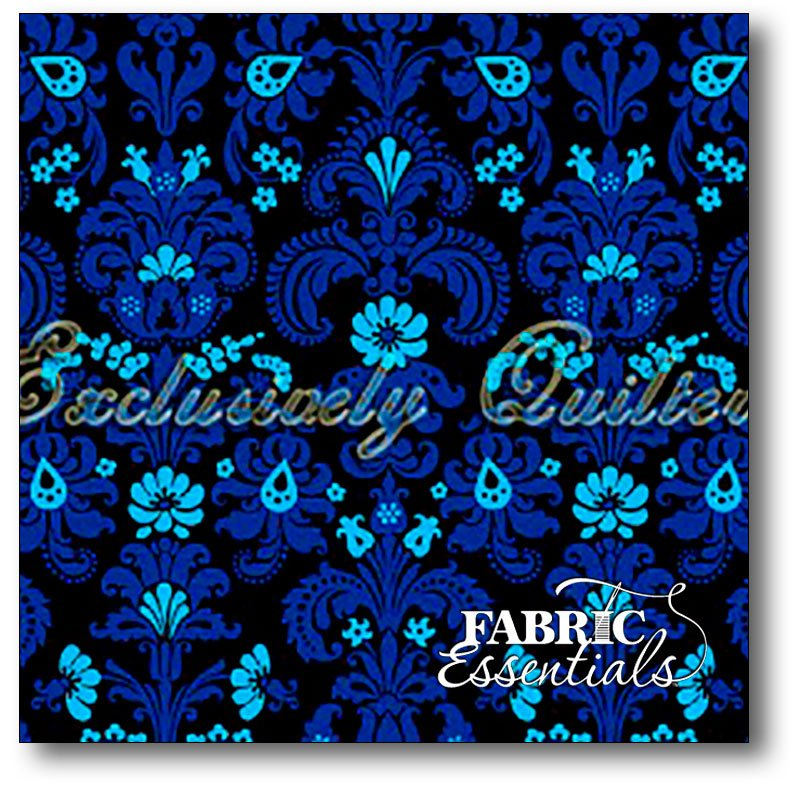 Exclusively Quilters - Sapphire - 3930-60610-20 Black
